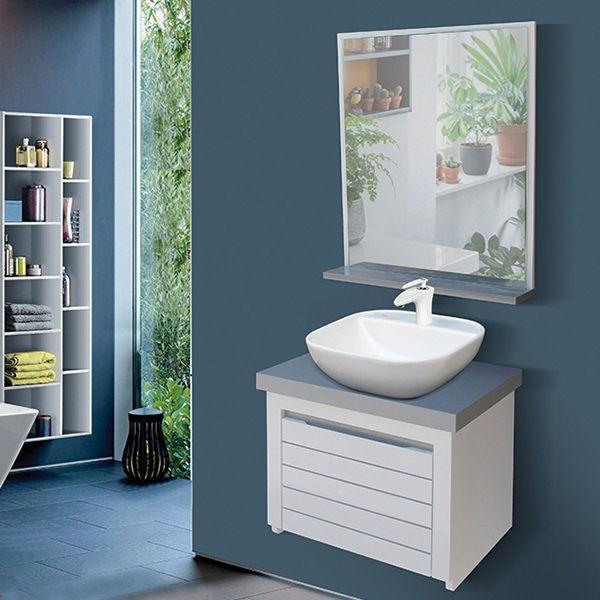 ست کابینت و روشویی مدل سلنا به همراه آینه