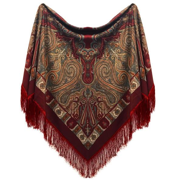 روسری زنانه مدل بته جقه کد 00600