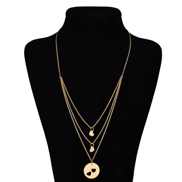 گردنبند طلا 18 عیار ماهک مدل MM0362