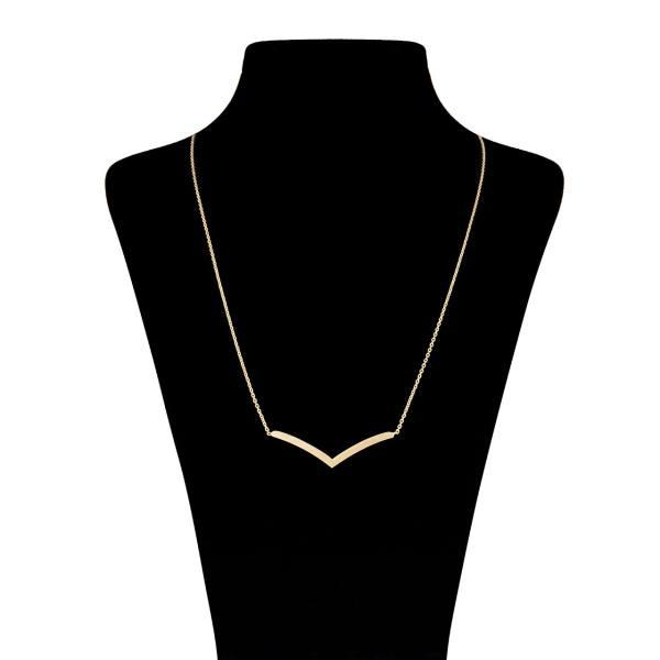 گردنبند طلا 18 عیار زنانه ماهک مدل MM0404