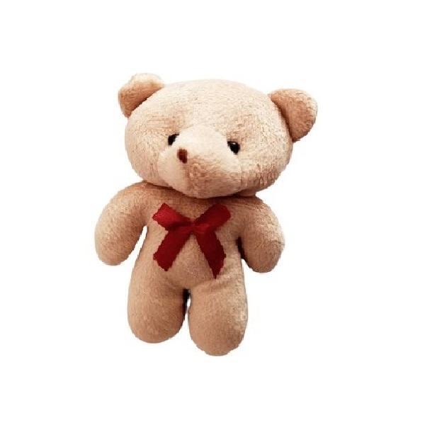 عروسک طرح خرس B25 ارتفاع 12 سانتی متر