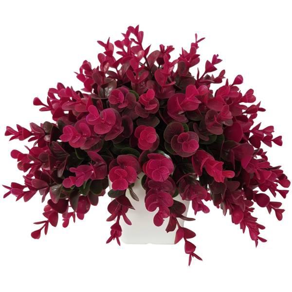 گلدان به همراه گل مصنوعی بخشی مدل SH313