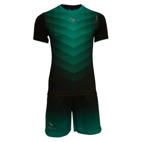 ست تی شرت و شلوارک ورزشی مردانه تکنیک پلاس 07 مدل PS-122