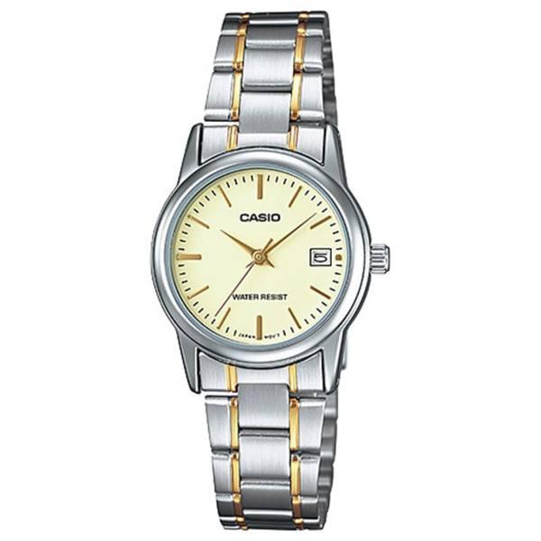 ساعت مچی عقربه ای زنانه کاسیو مدل LTP-V002SG-9AUDF