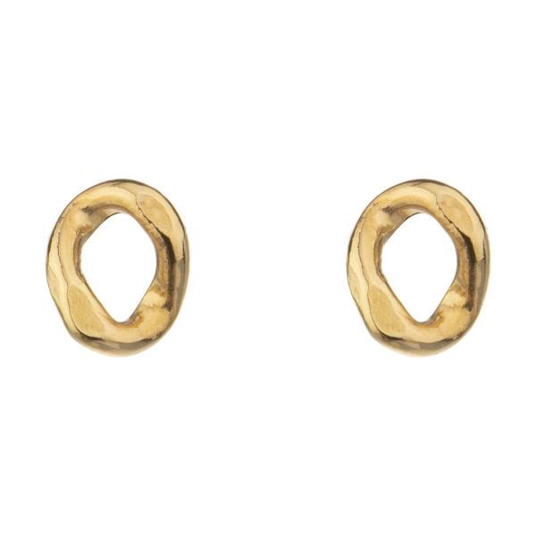 گوشواره طلا 18 عیار زنانه مایا ماهک مدل ME0939