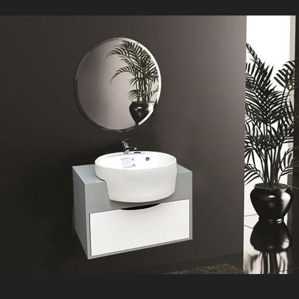 ست کابینت و روشویی مدل Milana5 به همراه آینه