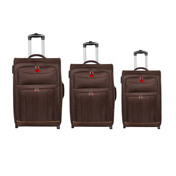 مجموعه سه عددی چمدان پیر کاردین مدل ۸۱۸۳