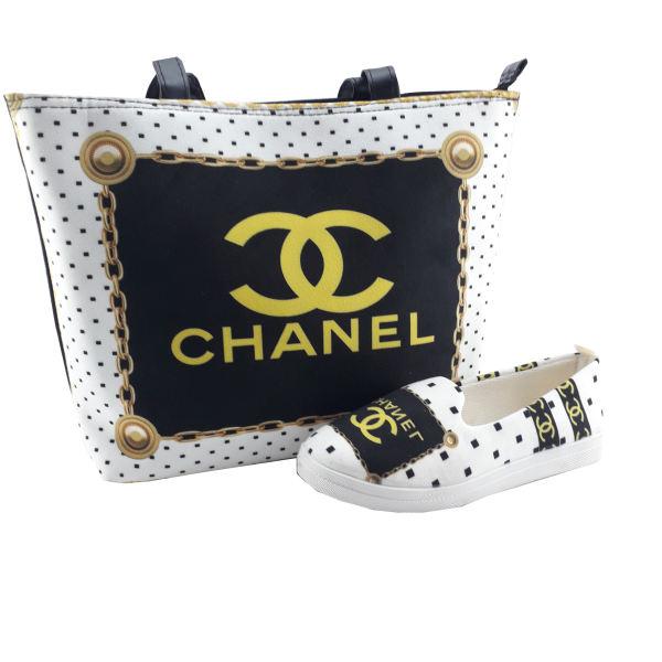 ست کیف و کفش زنانه مدل Ch01 غیر اصل