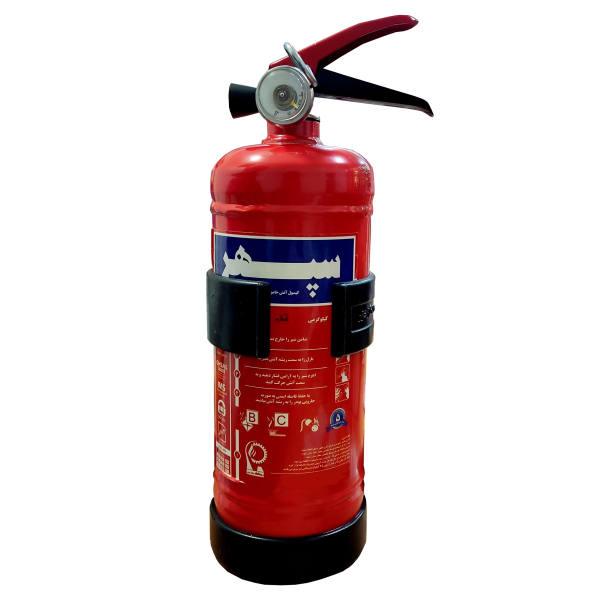 کپسول آتش نشانی سپهر مدل پایه پلاستیکی وزن 1 کیلوگرم