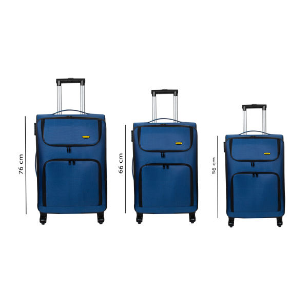 مجموعه سه عددی چمدان کاترپیلار مدل 8383