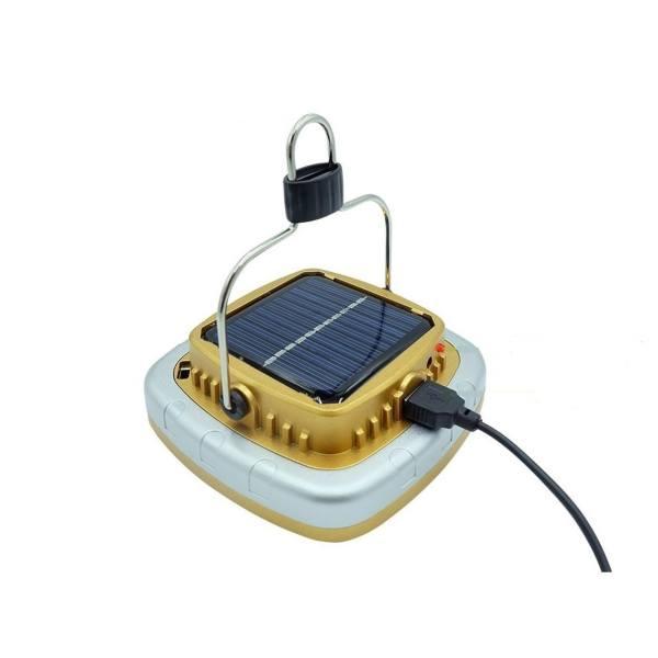 چراغ قوه کمپینگ شارژی مدل خورشیدی