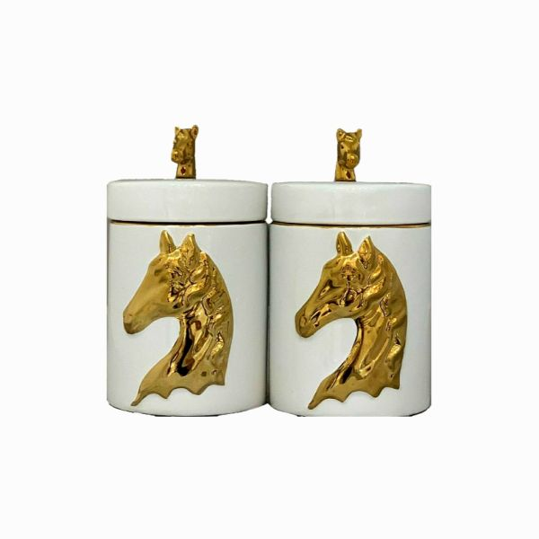 بانکه مدل اسب مجموعه 2 عددی