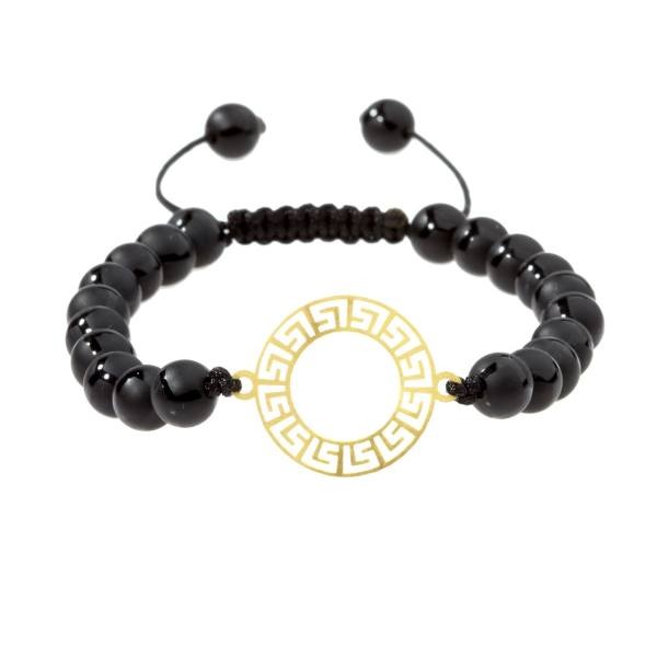 دستبند طلا 18 عیار اقلیمه کد DT186