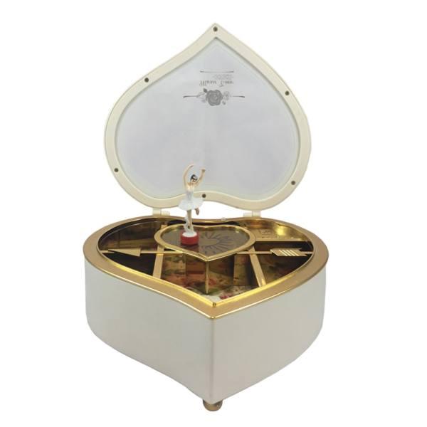 جعبه موزیکال طرح قلب کد 1581