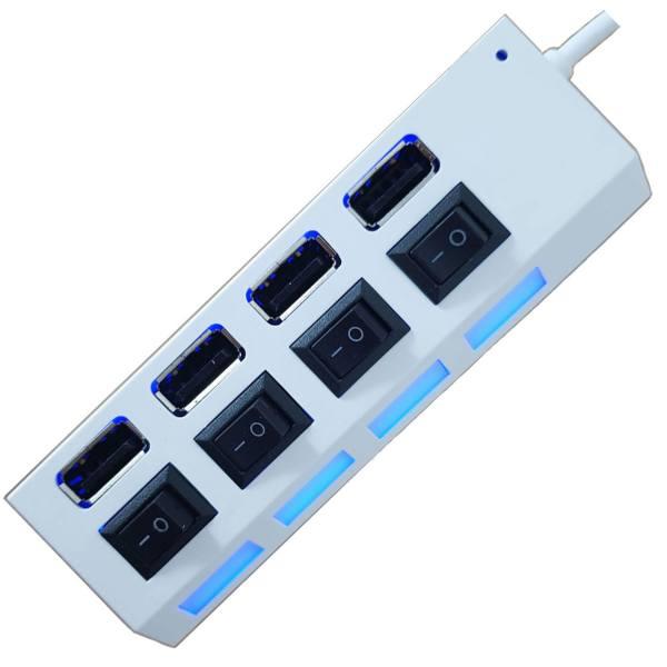 هاب USB 2.0 چهار پورت مکس تاچ مدل 02