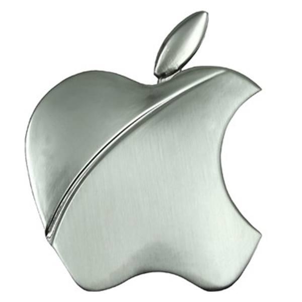 فندک کیوسک گالری Apple Silver مدل L19