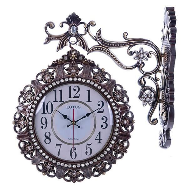 ساعت دیواری لوتوس مدل دو طرفه