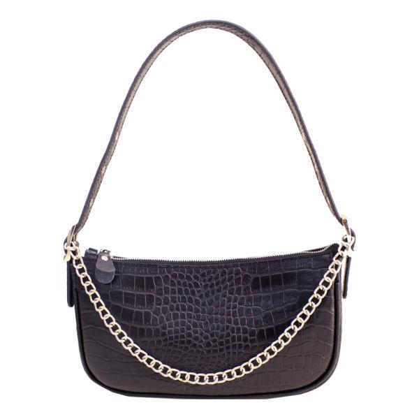 کیف دستی زنانه چرم آرا مدل d082