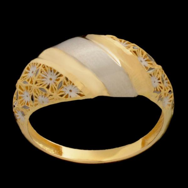 انگشتر طلا 18 عیار زنانه مدل 67134