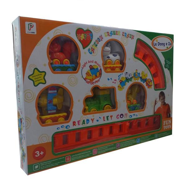 قطار بازی مدل شادی