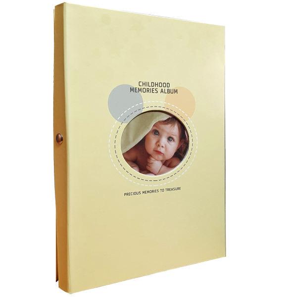 آلبوم خاطرات کودک مدل رنگی 2021