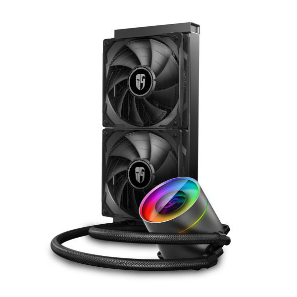 سیستم خنک کننده آبی گیمر استورم مدل CASTLE 240EX RGB