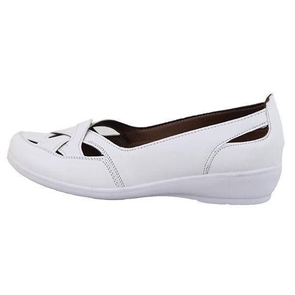 کفش طبی زنانه شهرام طب مدل 2082 رنگ سفید