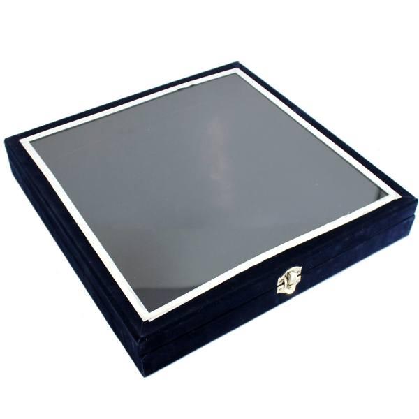 جعبه هدیه دست نگار مدل درب شیشه ای