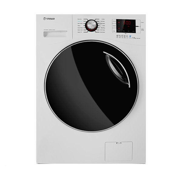ماشین لباسشویی اسنوا مدل SWM-84506 ظرفیت 8 کیلوگرم