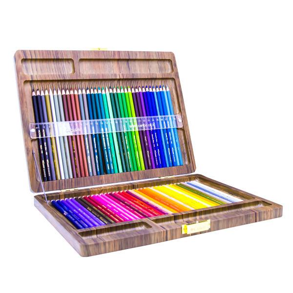 مداد رنگی 72 رنگ کنکو مدل ویکتوریا