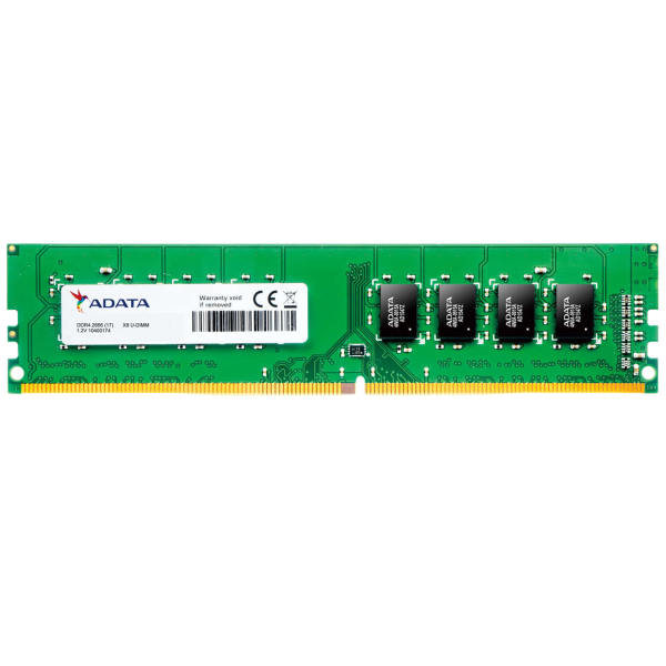 رم کامپیوتر DDR4 ای دیتا فرکانس 2666 مگاهرتز مدل AD4U266638G19-B ظرفیت 8 گیگابایت