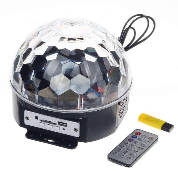 اسپیکر و رقص نور MAGIC BALL LiGHT مدل LED