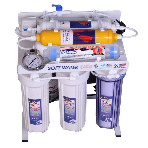 دستگاه تصفیه آب خانگی سافت واتر مدل RO8_OX
