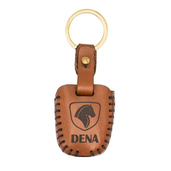 جاسوئیچی خودرو چرم طبیعی کد ct-053 مناسب برای دنا (عرضه کالا)
