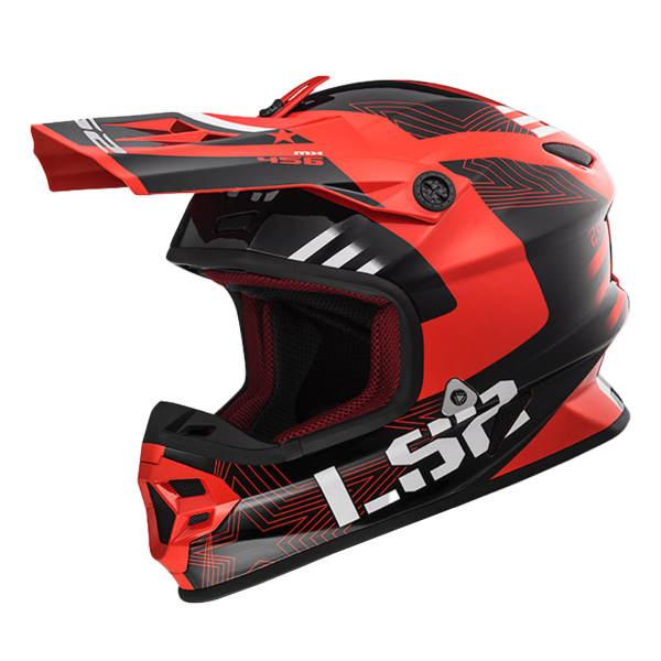 کلاه کاسکت ال اس تو مدل MX103-RD