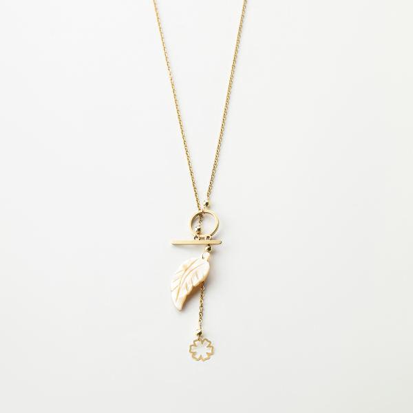 گردنبند طلا 18 عیار زنانه مدل MM112