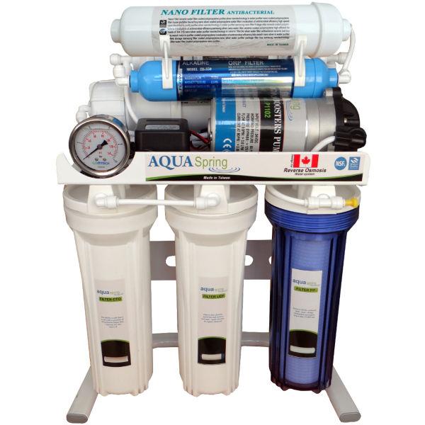 دستگاه تصفیه آب خانگی آکوآاسپرینگ مدل RO-SN2049