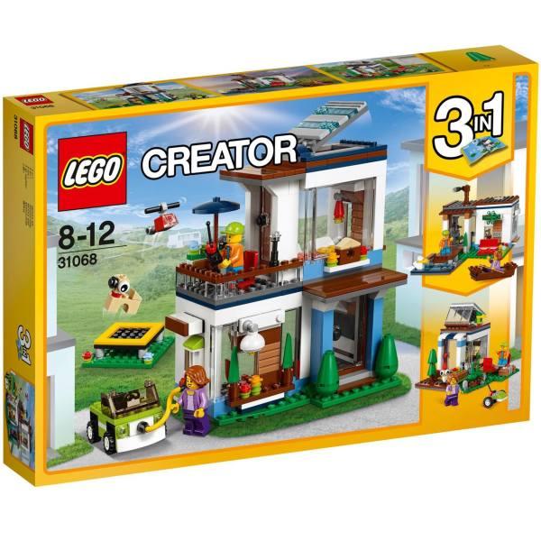 لگو سری Creator مدل Modular Modern Home 31068