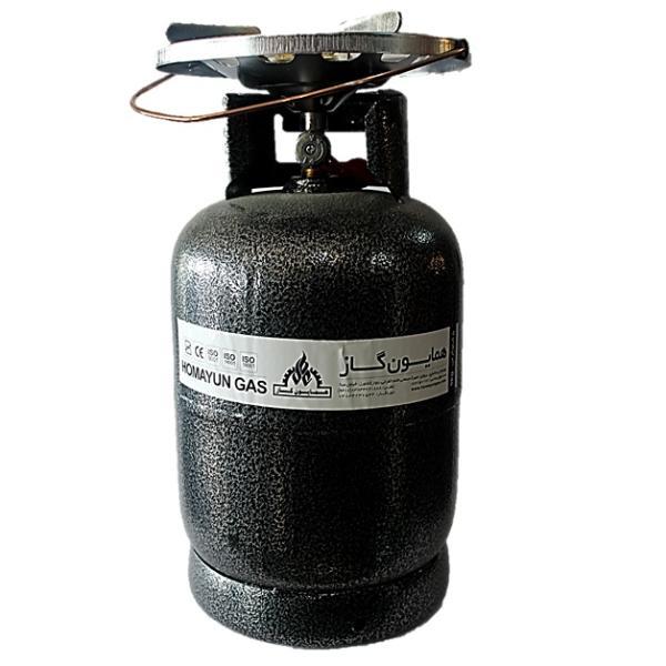 اجاق گاز پیکنیکی همایون گاز مدل سفری 005 حجم 5 کیلوگرم