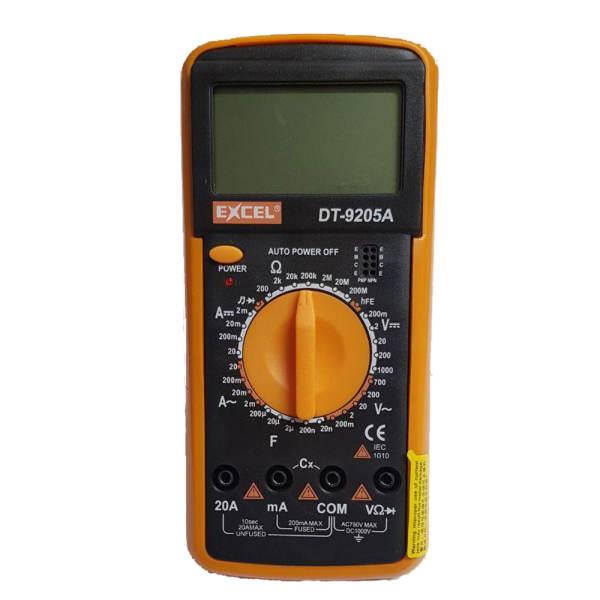 مولتی متر دیجیتال اکسل مدل DT-9205A