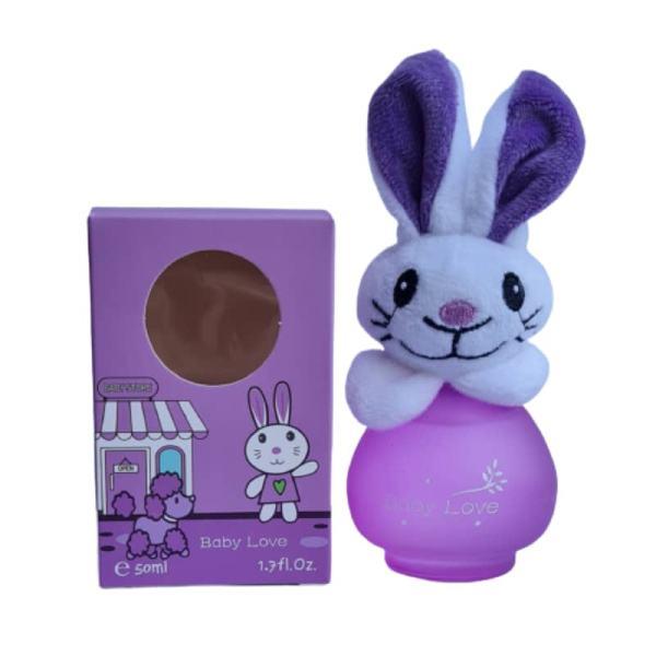 ادوکلن کودک بیبی لاو مدل خرگوش حجم 50 میلی لیتر