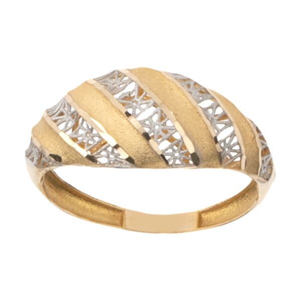 انگشتر طلا 18 عیار زنانه گالری یارطلا کد ANF11