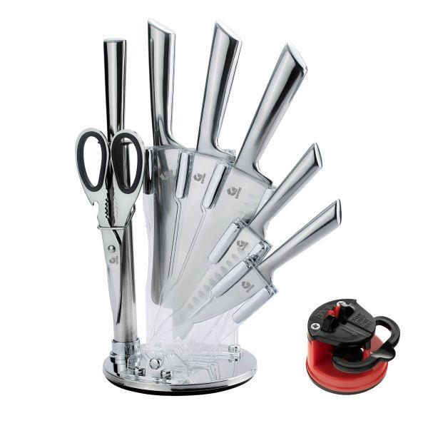 سرویس چاقو آشپزخانه 9 پارچه جی فی نی مدل G.S.P.9