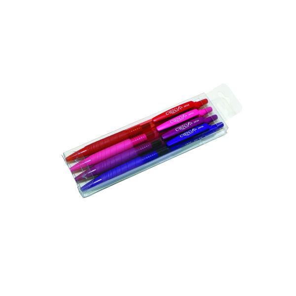 روان نویس کرند مدل GP1 بسته ۴ رنگ قطر نوشتاری 0.5 میلی متر