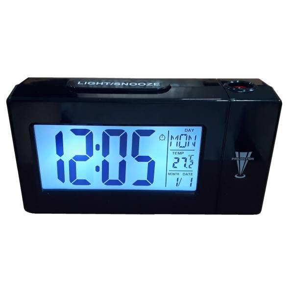 ساعت رومیزی پروژکتوری و دما سنج مدل DS-618
