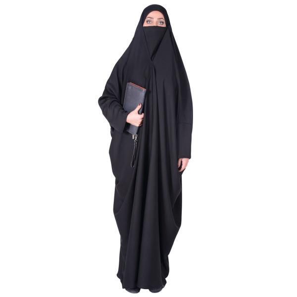 چادر لبنانی شهر حجاب مدل 8010