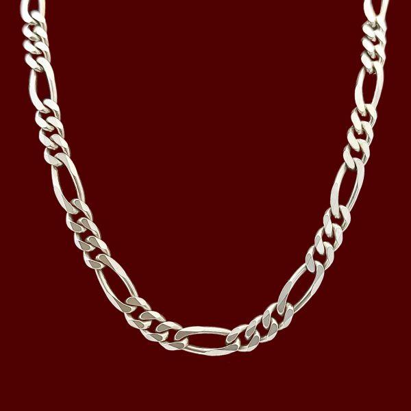 زنجیر نقره مردانه مدل فیگارو VZ5473