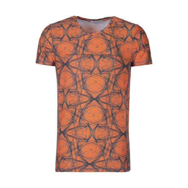 تی شرت ورزشی مردانه هالیدی مدل 855204-ORANGE
