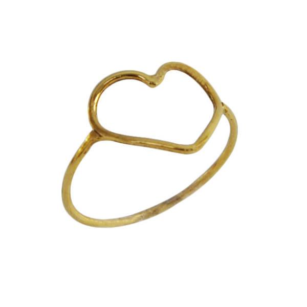 انگشتر نقره زنانه طرح قلب کد 503