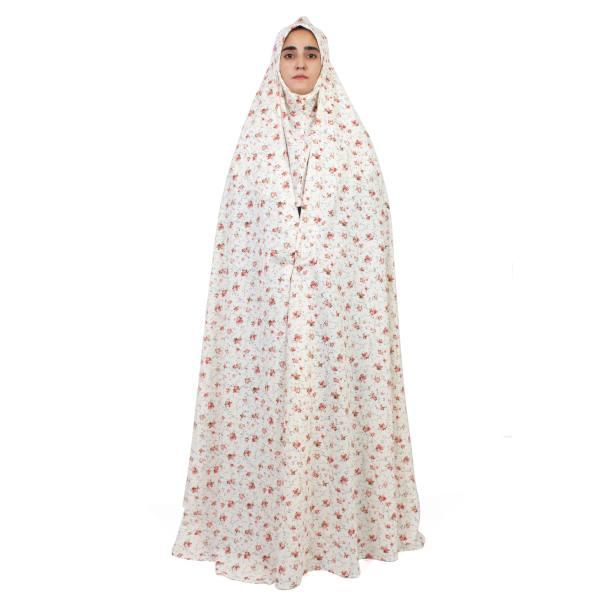 چادر نماز مدل سنتی مقنعه دار